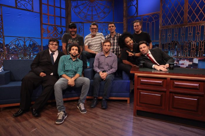 elenco do the noite